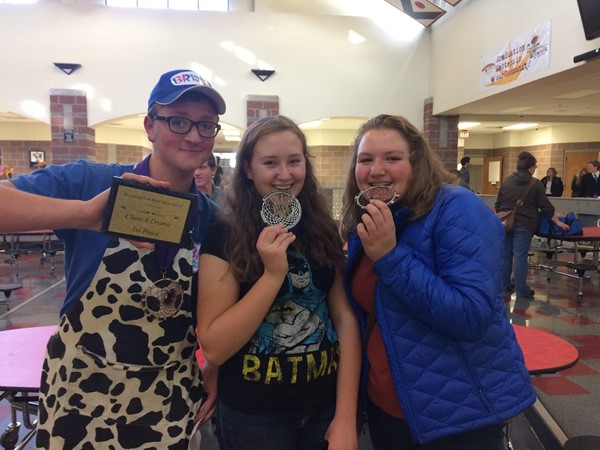 Watson Trio got First in all their events!